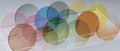 custome eyewear lenses with different colored tints