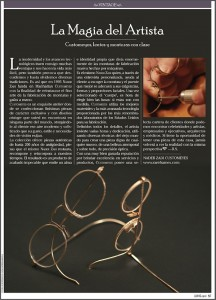 Nader Zadi Customeyes in Luhho Magazine