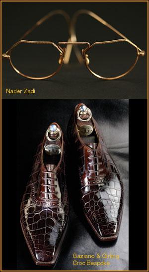 Gazian & Girling Croc Bespoke and Nader Zadi Customeyes