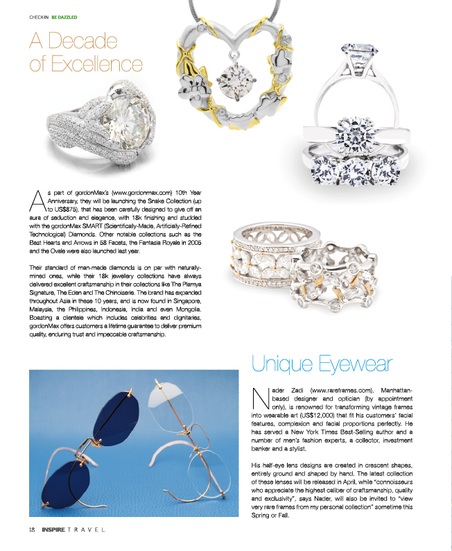 Inspire Travel Magazine – Singapore