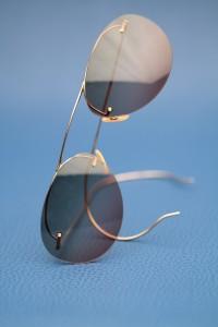 Aviator Sunglasses by Nader Zadi