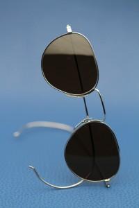 Nader Zadi White gold sunglasses