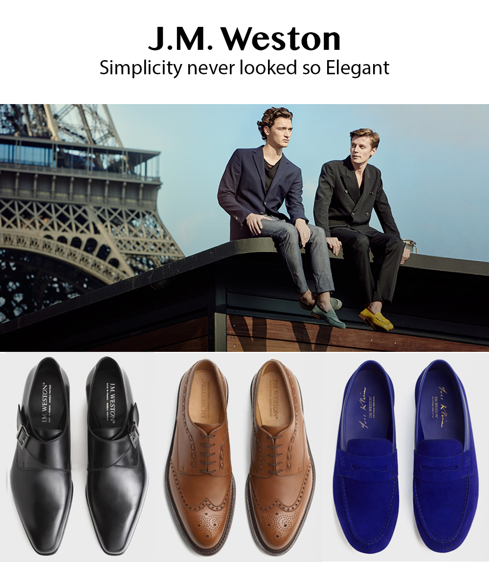 J.M. Weston:  French, Timeless Style