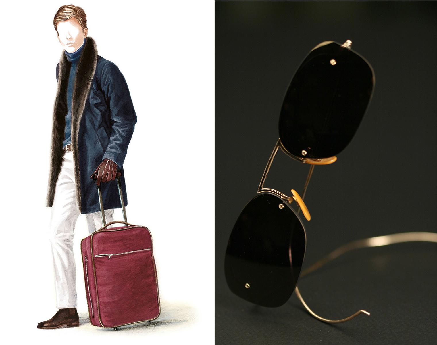 Loro Piana travel bags for the discerning traveler